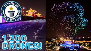 Drone display breaks world record title! - Guinness World Records