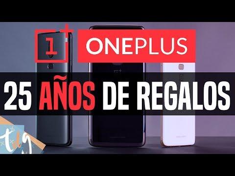 😱 GANA Smartphones OnePlus PARA TODA LA VIDA (25 Años)
