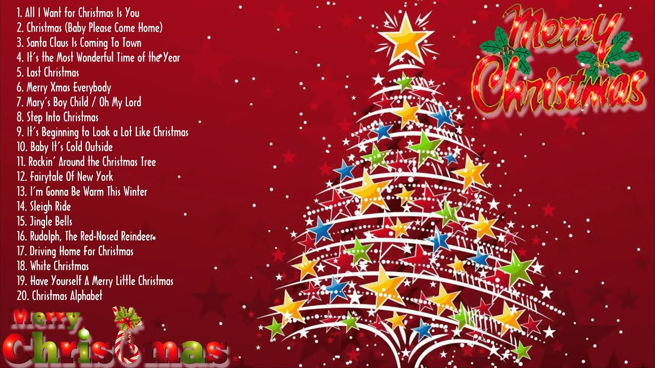 Merry Christmas || Christmas Songs || Top 50 Great Christmas Songs ...