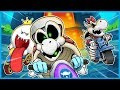 SPOOKY CHARACTERS & EVEN SPOOKIER DRIVING! - MARIO KART 8 DELUXE FUNNY MOMENTS HALLOWEEN EDITION!