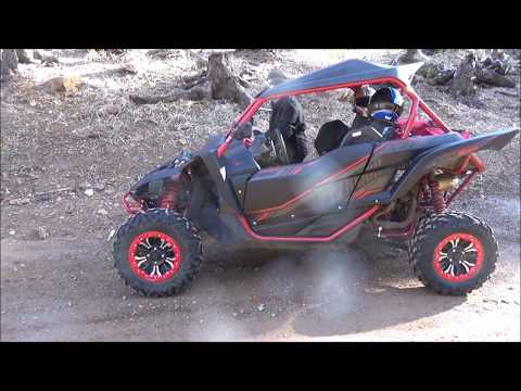 YXZ Ride - Tight trails and playing in snow at Walker Valley