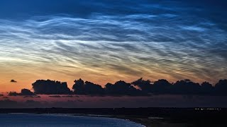 2017 Noctilucent cloud chasing season teaser - 4K (UHD) time-lapse, Denmark