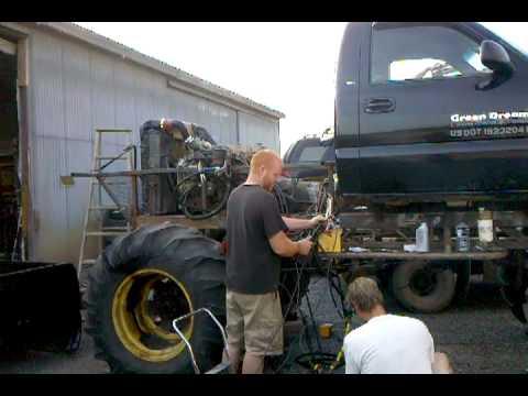 rear engine cummins diesel 24 valve