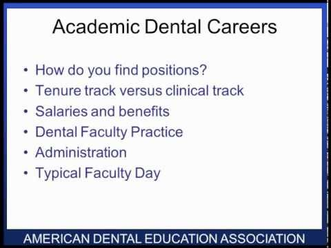 Academic Dental Careers Fellowship Program - ADCFP