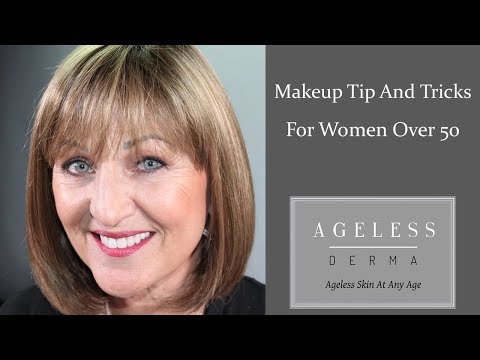 Makeup Tips and Tricks for Women Over 50