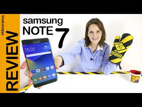 Samsung Galaxy Note 7 review en español | 4K UHD