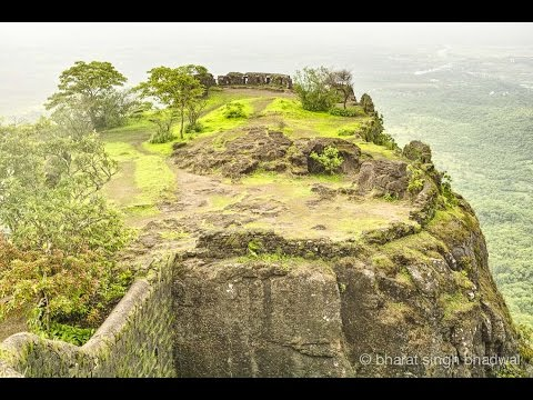 Karnala Fort. Monsoon Panorama.