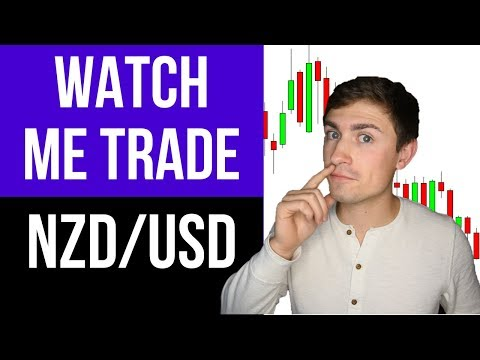 Live Forex Trading: How I Made $297.00 Trading NZD/USD 💰📉