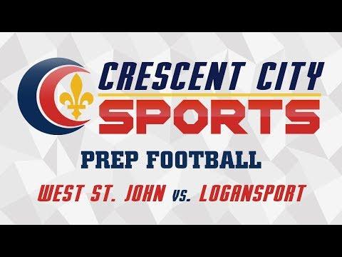 Crescent City Sports Prep Football - West St. John vs. Logansport