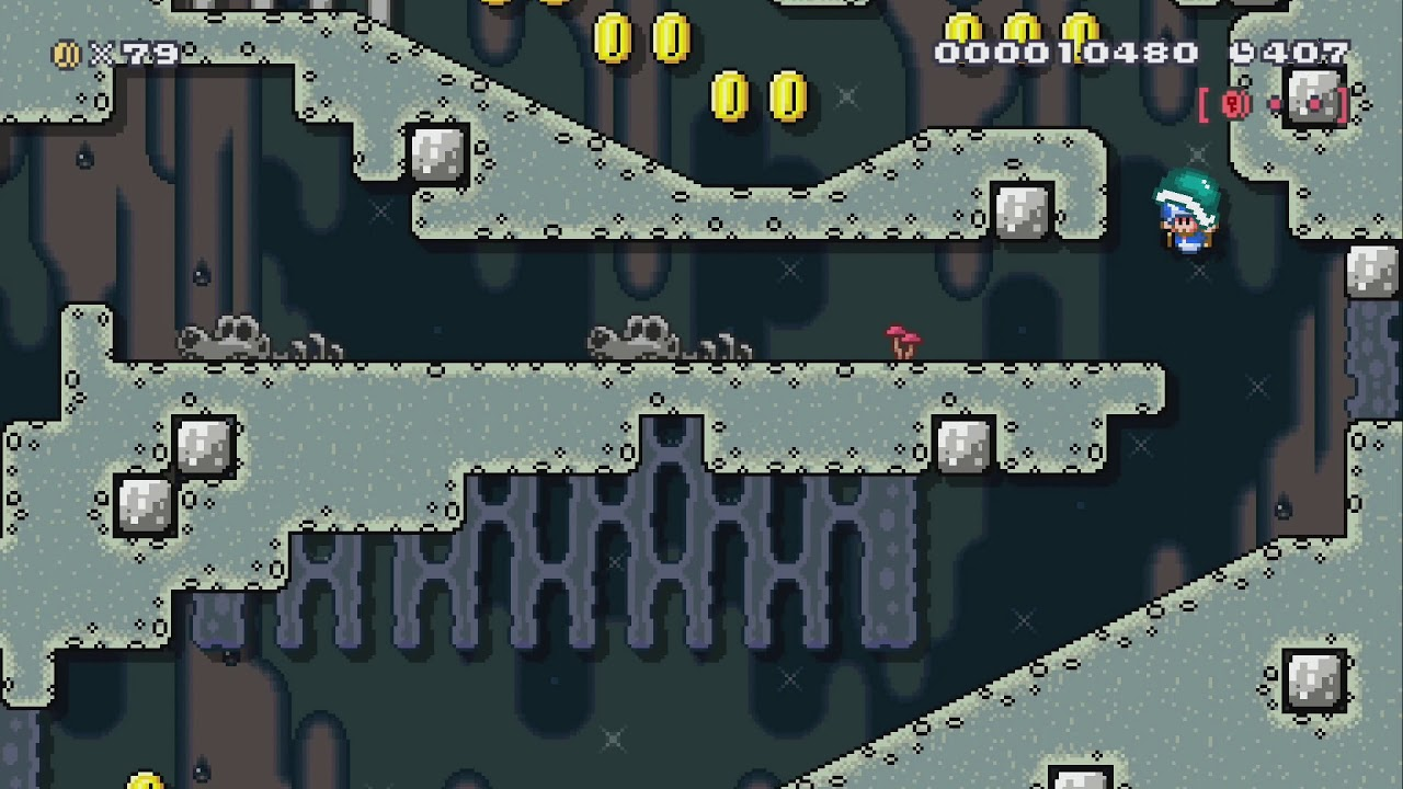 Pikmin 2 Submerged Castle By Futuredays Super Mario Maker 2