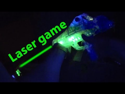 Laser Game at Laserdome in Stockholm