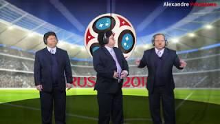 Brasil na Copa da Russia piores momentos (galvão,calça grande,Ronalducho, Petconvite e olodum)