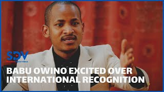Babu Owino receives more international recognition for his online classes