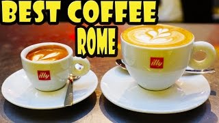 Best Coffee in Rome near the Pantheon