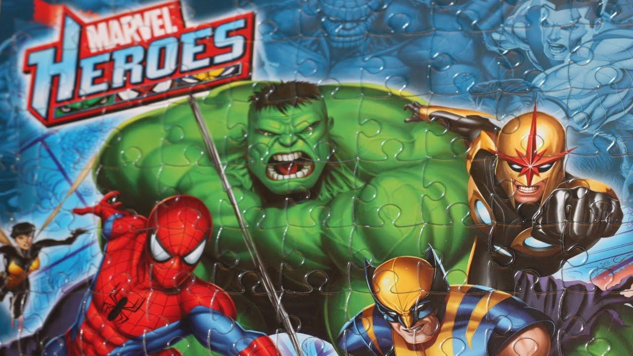 MARVEL Heroes of Goo jit Zu I SUPEREROI-Uno in dotazione si sceglie