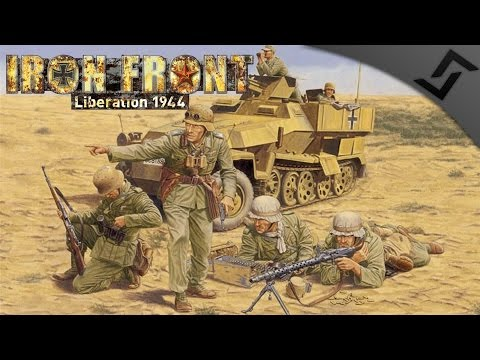 Deutsches Afrika Korps vs US Army - ARMA 3 Zeus Iron Front WW2 Mod