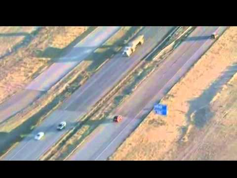 Colorado Police Chase 3-12-2014