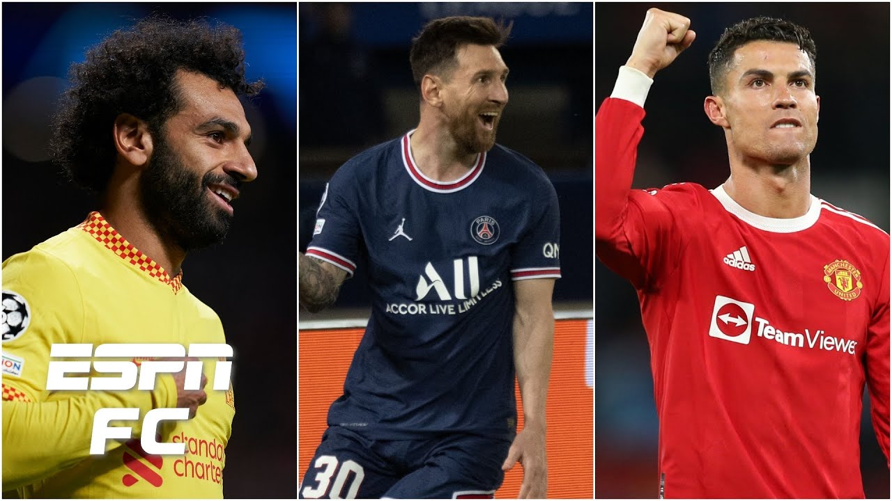 Download Lionel Messi, Mo Salah, Cristiano Ronaldo: whose Champions League performance was better?   ESPN FC