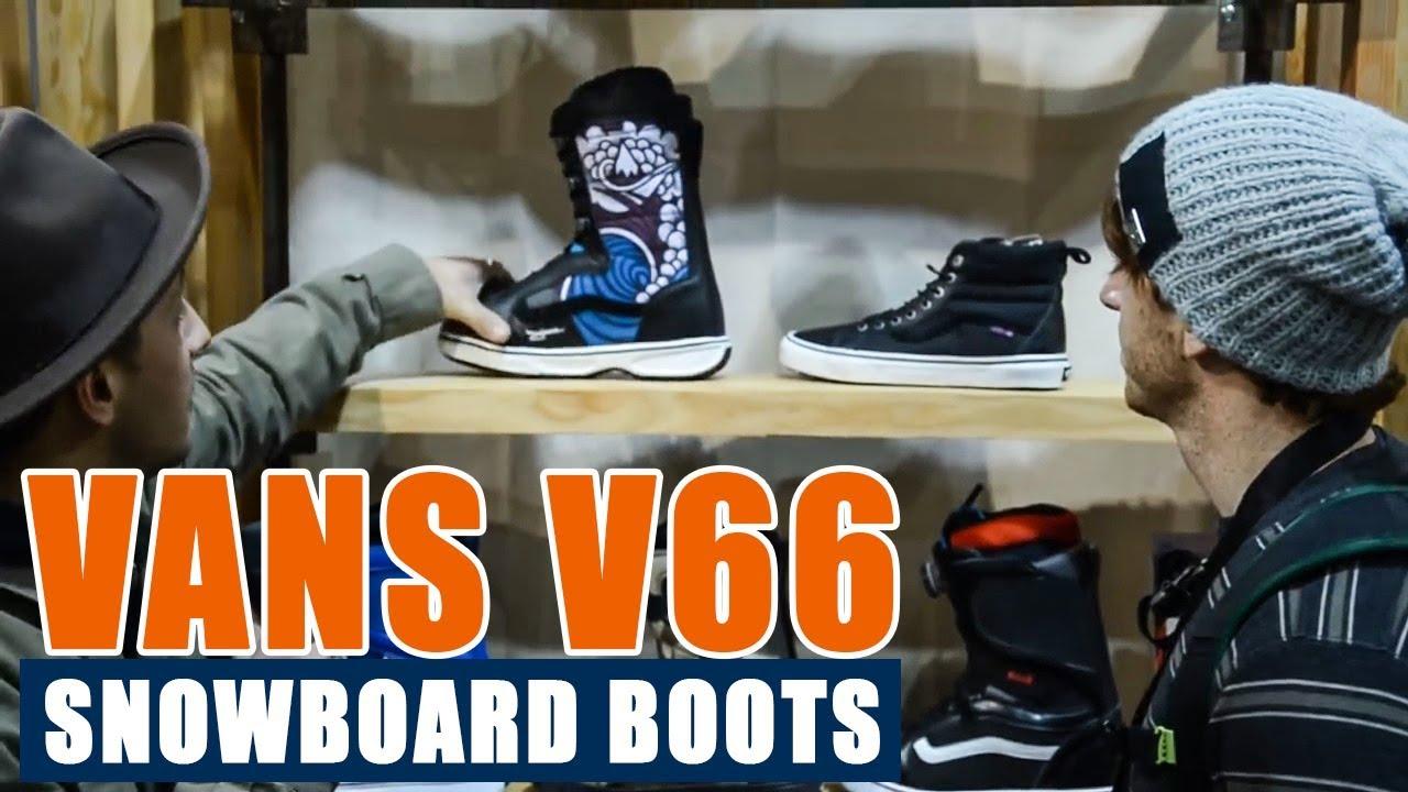 3edf462541 Vans V66 Snowboard Boots - YouTube