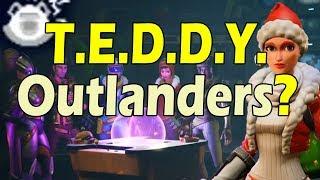 Bugged T.E.D.D.Y. abilities | T.E.D.D.Y. Outlander loadouts in Fortnite 8.0