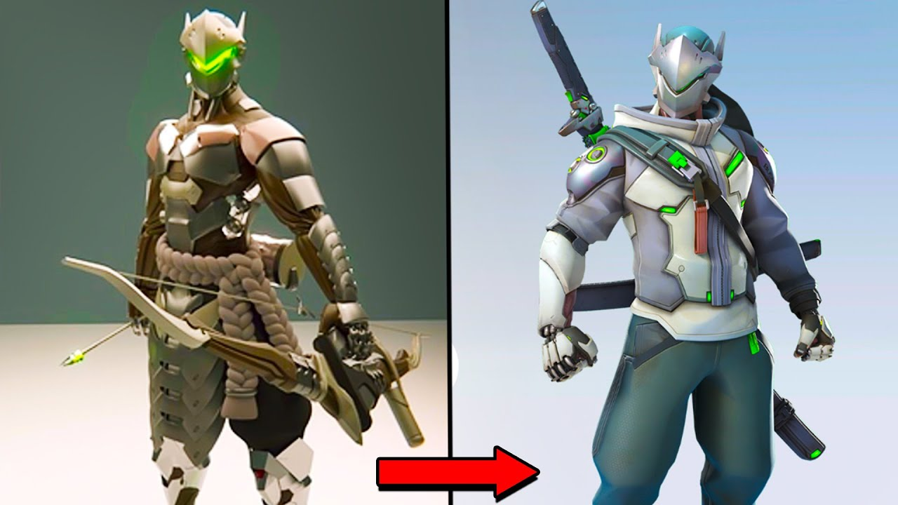 The Evolution of Genji! - Overwatch