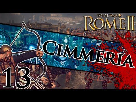 Total War: Rome II - Cimmeria Campaign [Legendary] #13 ~ Aiding Egypt!