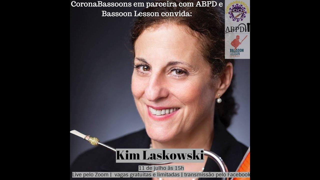Live com a professora Kim Laskowski