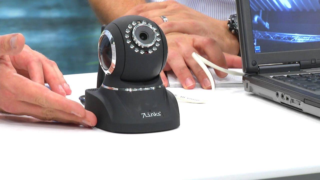 7links indoor ip kamera ipc 770hd mit qr connect hd wlan ir youtube. Black Bedroom Furniture Sets. Home Design Ideas