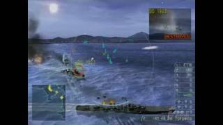 Warship Gunner 2 PlayStation 2 Gameplay - Bombs Away