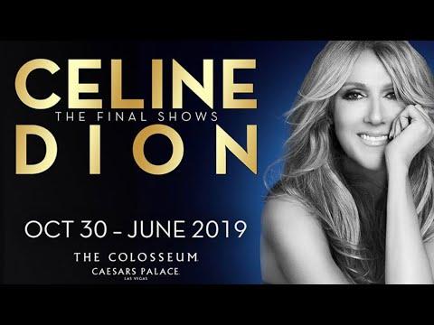Celine Dion Final Las Vegas Tour Dates 2019 Caesars Palace Through