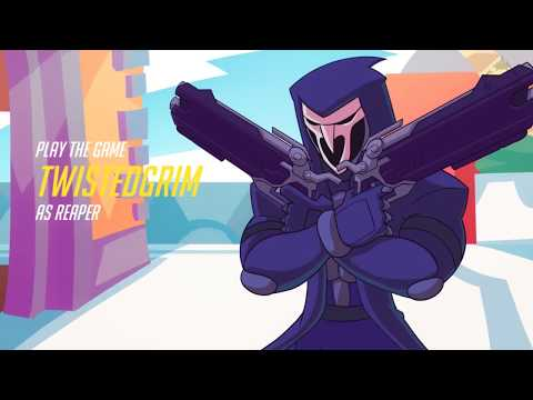 Reaper's Death Blossom Animation  (with Gun Sounds)