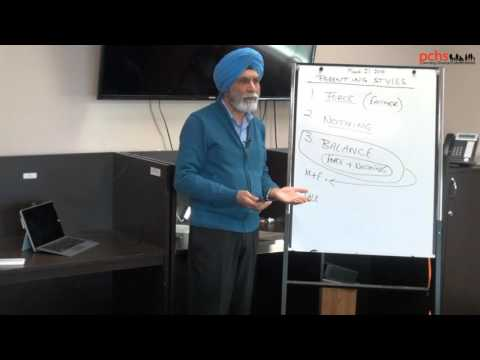 parenting styles (Punjabi) By Baldev Mutta ceo pchs