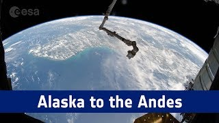 Horizons mission time-lapse – from Alaska to the Andes