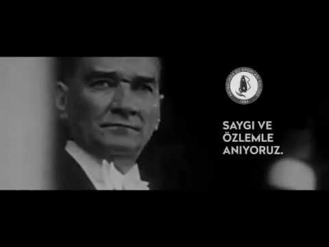 Ulu önder Mustafa Kemal Atatürk'ü vefatının 80. yılında saygı ve özlemle anıyoruz.