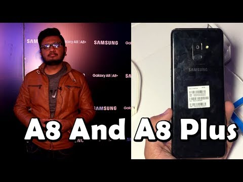Samsung A8 And A8 Plus 2018 | FIrst Impressions & HandsOn!!