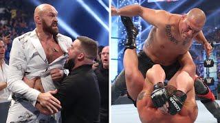 Cain Velasquez & Tyson Fury Make SHOCK WWE Debuts!