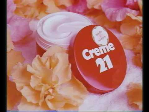 Creme 21 Werbespot aus den 70ern