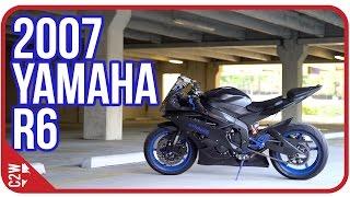 yummir6 s 2007 yamaha r6   first ride
