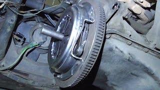 замена выжимного подшипника и диска сцепления на газели 3302