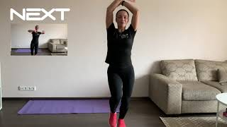 BF home / dance cardio / танцевальная кардио тренировка