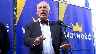"""Janusz Korwin-Mikke in Hyde Park 27.05.2018 - """"European values"""""""