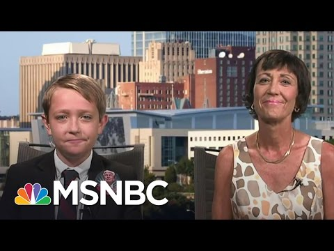 11 Year-Old Was The Star At Mike Pence Rally | MSNBC