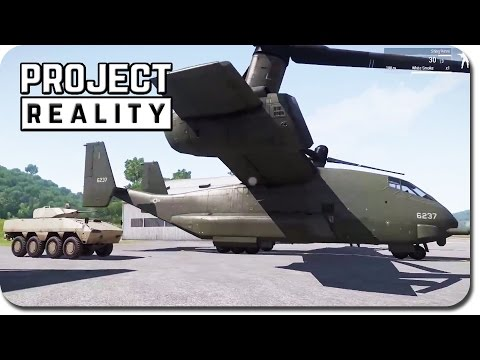 Project Reality & ArmA III: Apex ► Advanced Logistics Features