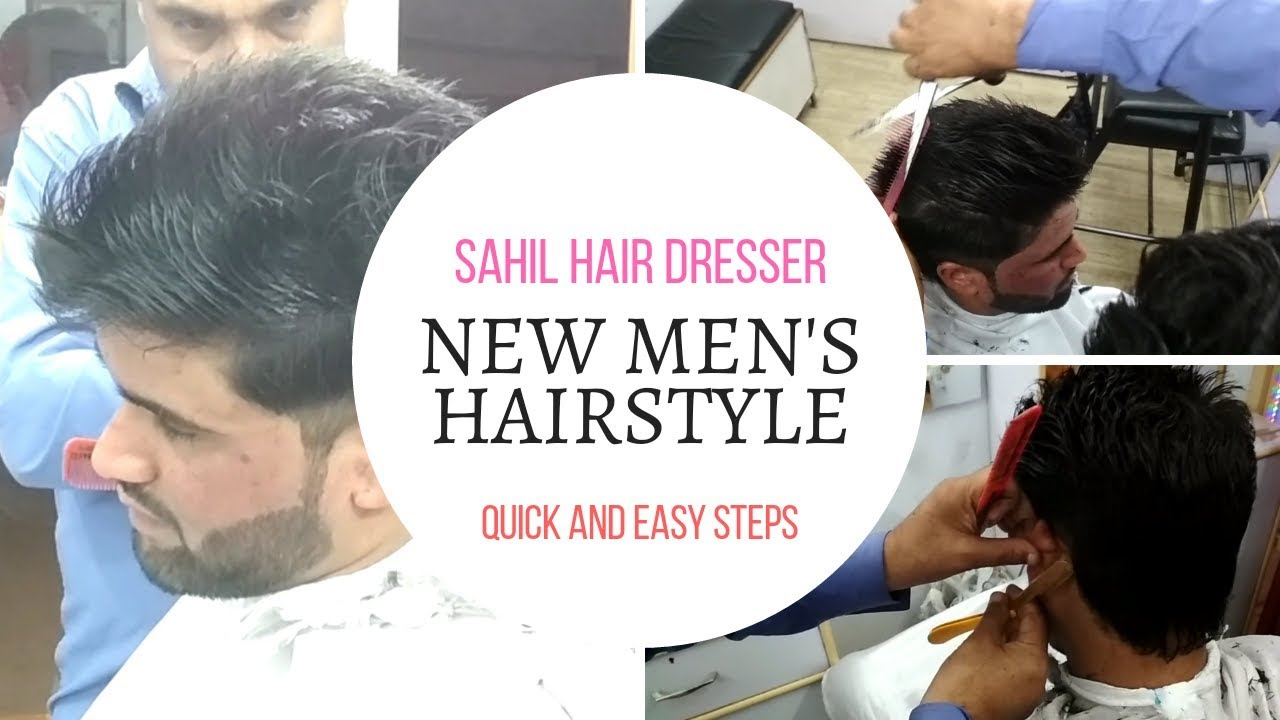 New Mens Haircut By Sahil Hair Dresser Shop Jammu Hair Styles Hub