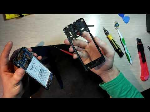 Как легко и быстро заменить тачскрин  - OUKITEL C8