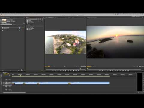 Editing and Stabilizing Aerial Videos using Adobe Premiere CS6