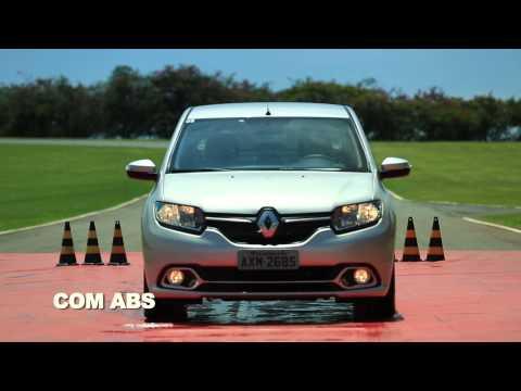 Renault mostra na prática o funcionamento dos freios ABS