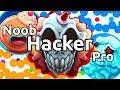 NOOB vs PRO vs HACKER in Agar.io
