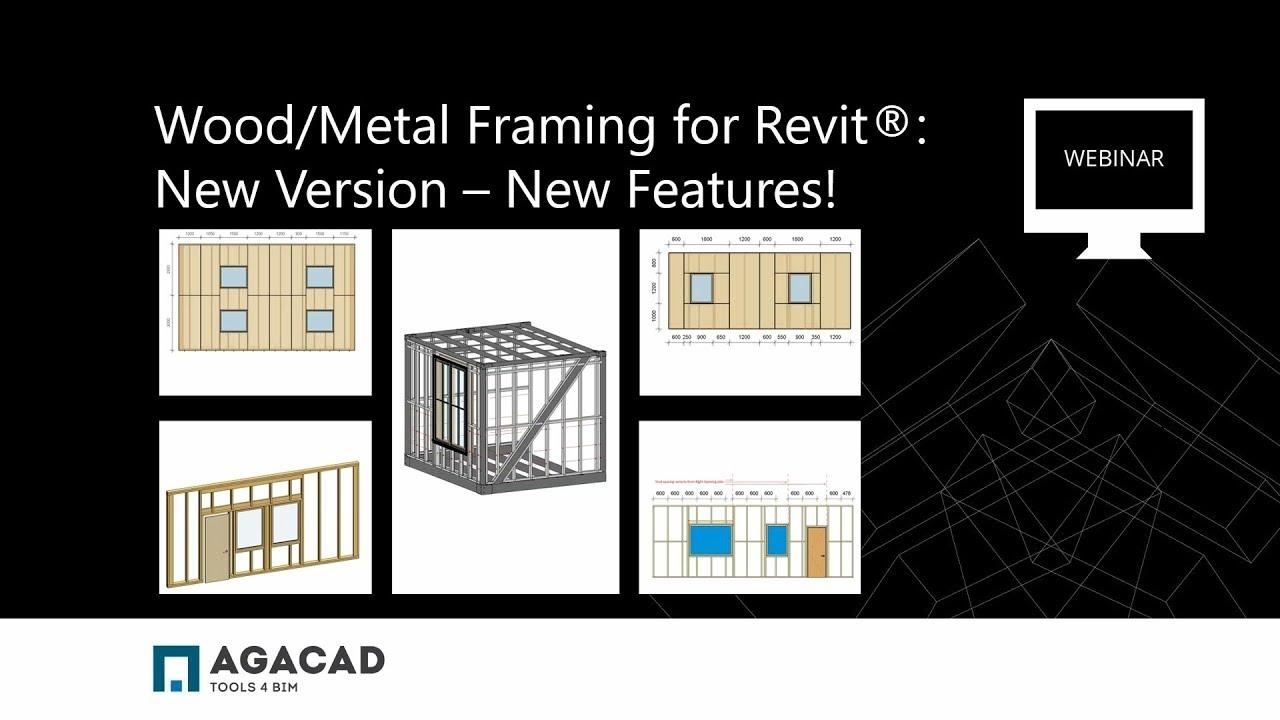 Metal Framing Wall | AGACAD TOOLS4BIM