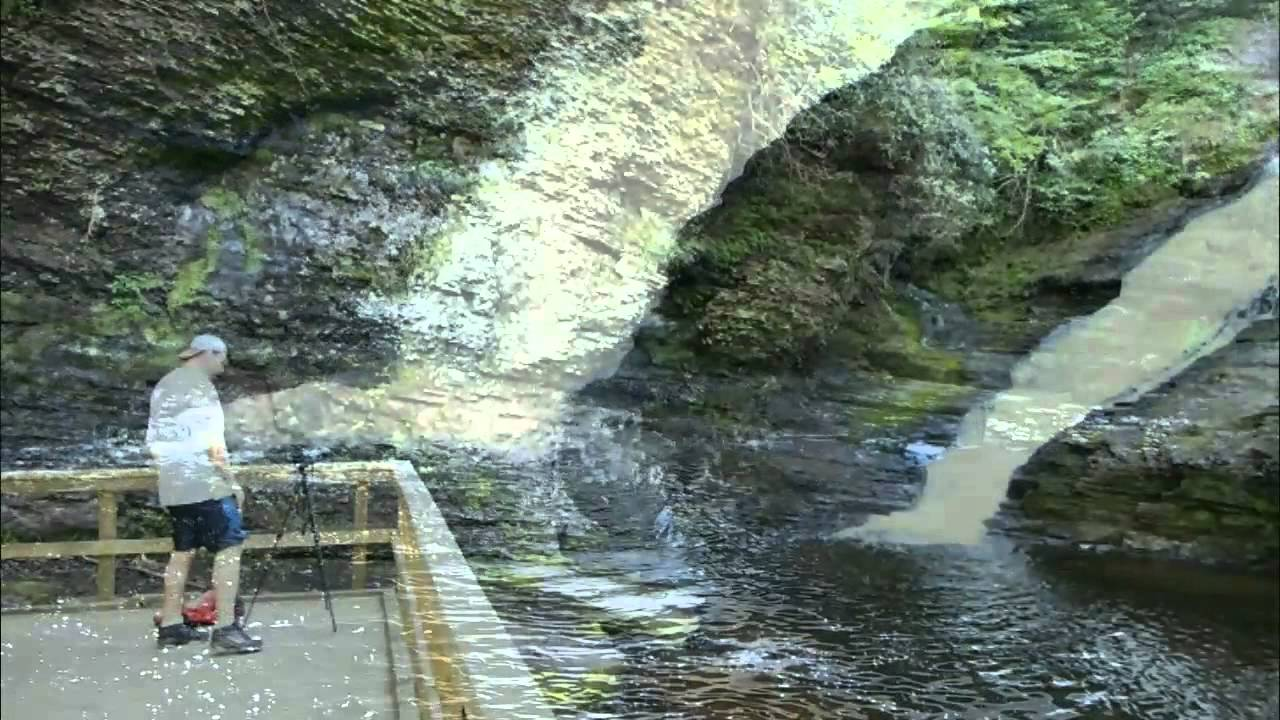 Dingmans falls pa 39 s second highest worth exploring youtube for Mitchell s fish market jacksonville fl